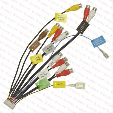 connector for pioneer avicd3 24pin av  kawu